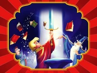 Аудіоказка про англіського короля Артура. Автор: Уолт Діснейкороля
